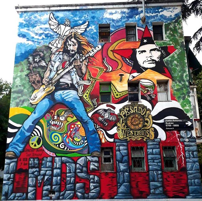 Murales de La Renga